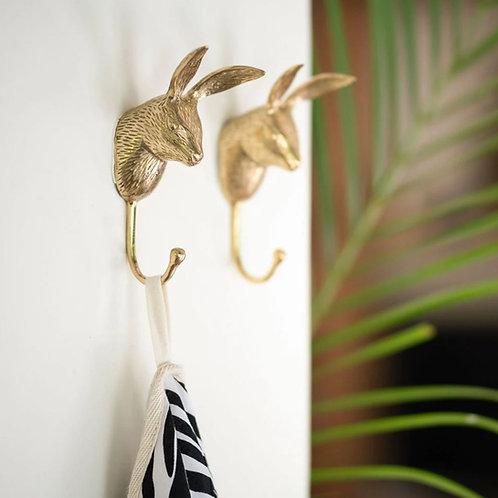 Brass hook Rabbit