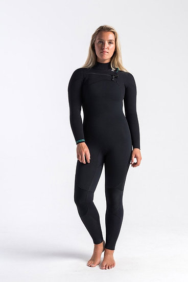 C Skins Re-Wired 5:4 Women's Chest Zip Wetsuit 2020