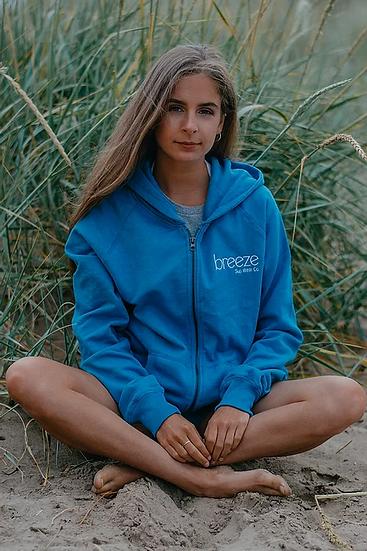 Breeze Unisex Recycled Zip Up Hoody
