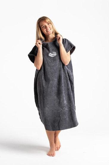Robie Robes Change Robe in Steel Grey