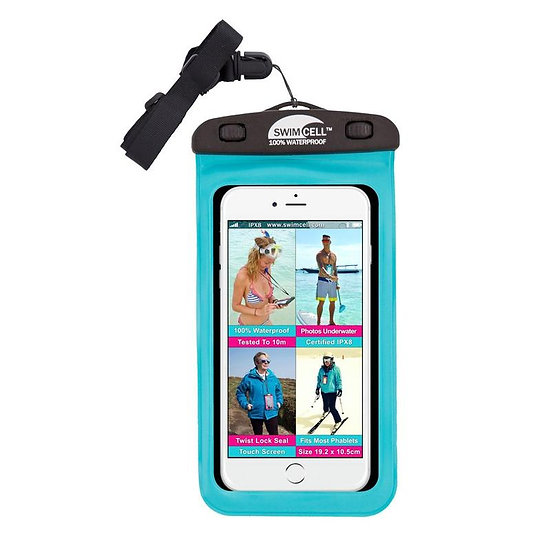 SwimCell 100% Waterproof Large Phone Case