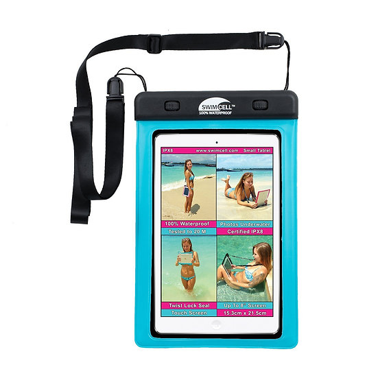 SwimCell 100% Waterproof Small Tablet Case