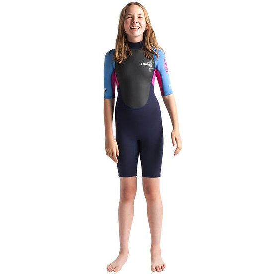 C-Skins Element Junior Girls 3/2mm Shortie Wetsuit