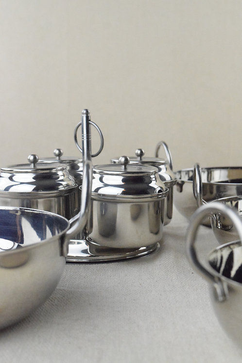 Stainless Steel Curry Service