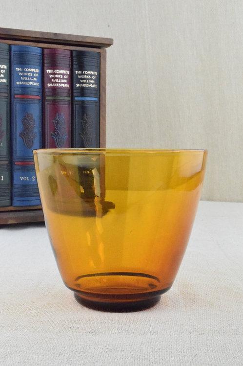 Small Amber Bowl