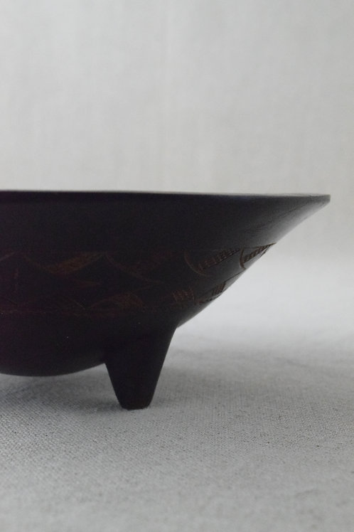 Carved African Bowl