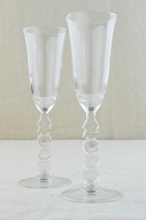 Millennium Champagne Flutes