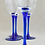 Thumbnail: Blue Stemmed Wine Glasses