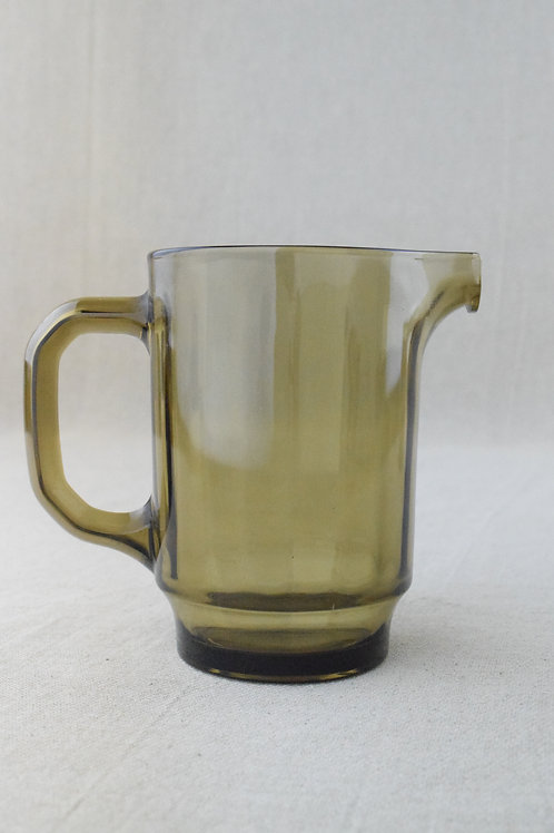 Smoked Glass Water Jug