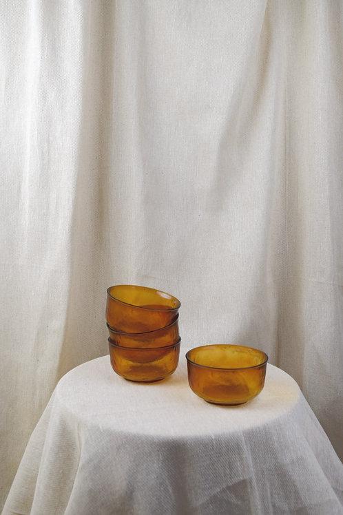 Amber Bowls