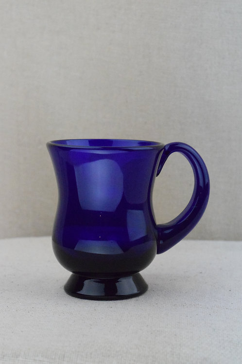 Thomas Webb Bristol Blue Glass Tankard