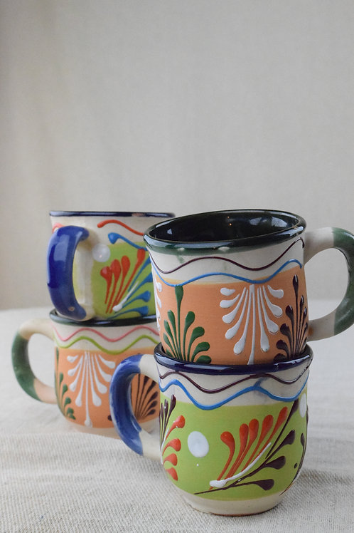 Set of Terracotta Mugs