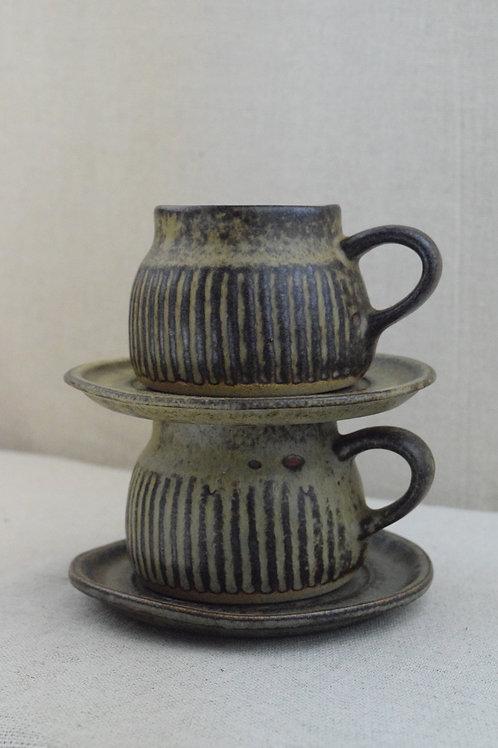 Tremar PotteryTea Cup and Saucer