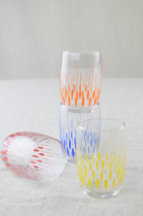 Rainbow Juice Glasses