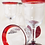 Thumbnail: Recycled Glass Wine Goblets