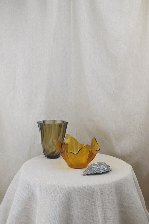 Amber Trinket Bowl