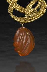 Berk Toccata pendant__front cropped fire