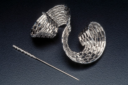 """""""Double Spiral"""" Brooch"""