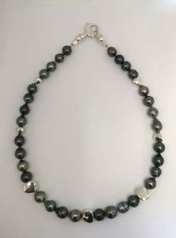 Black Pearl and Sterling Strand