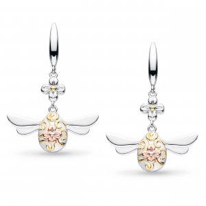 Blossom Flyte Queen Honey Bee Drop Earrings