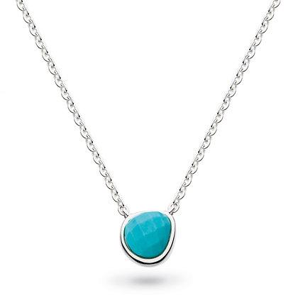 Coast Pebble Turquoise Mini Necklace