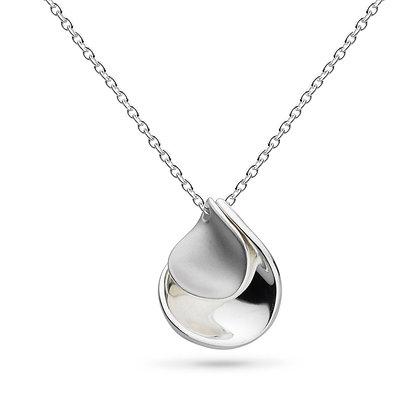 Enchanted Double Petal Sandblast Necklace