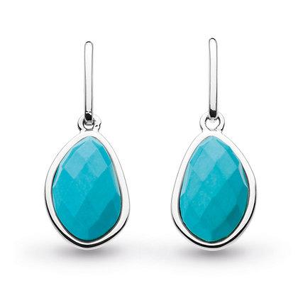 Coast Pebble Turquoise Drop Earrings