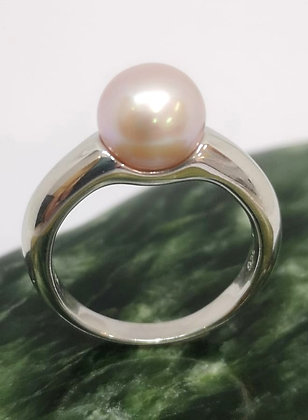 Natural Pink Pearl Ring