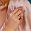 Thumbnail: Blossom Eden Blush Leaf Split Ring