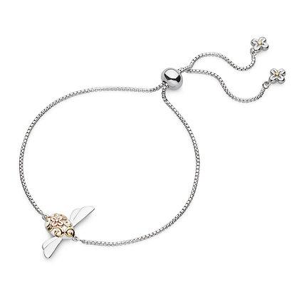 Blossom Flyte Queen Honey Bee Toggle Bracelet