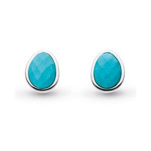 Coast Pebble Turquoise Large Stud Earrings