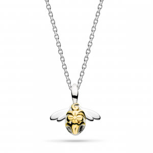 Blossom Bumblebee Small Gold Necklace