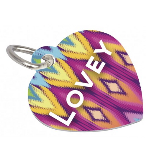 4737 PET TAG - HEART 2 SIDED