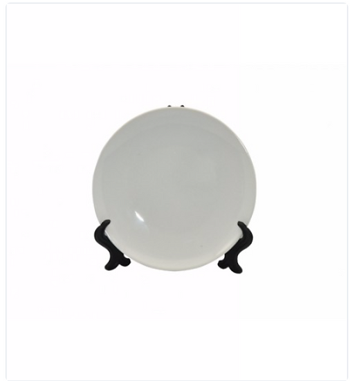 "8"" Ceramic Plate For Full Printing (PDB1)"