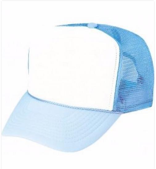Baseball Cap Cool Blue/White