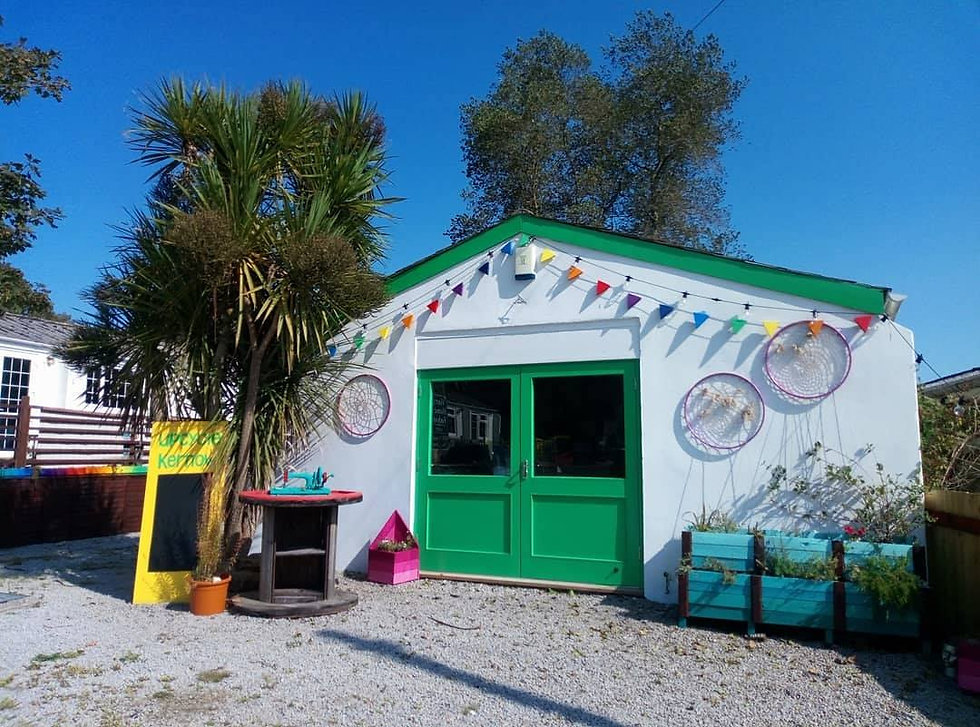 Upcycle Kernow CIC recycling, eduction, terracycle in Cornwall