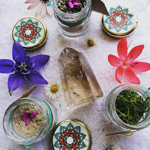 Herbal Womb Clay Pack