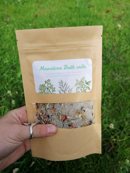 Moontime Magnesium bath Crystals