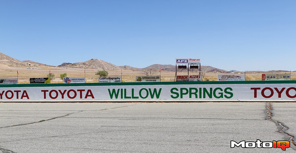 "Willow Springs International Raceway was our choice for testing, also known as ""the fastest track in the West."""
