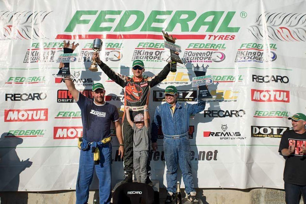 Zestino Tyre Drivers Podium in France