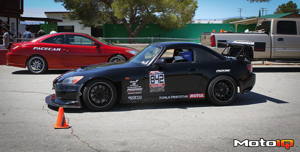 The selected test vehicle- the Karla Pestotnik Racing S2000.