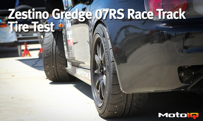 Zestino Gredge 07RS Race Track Tire Test