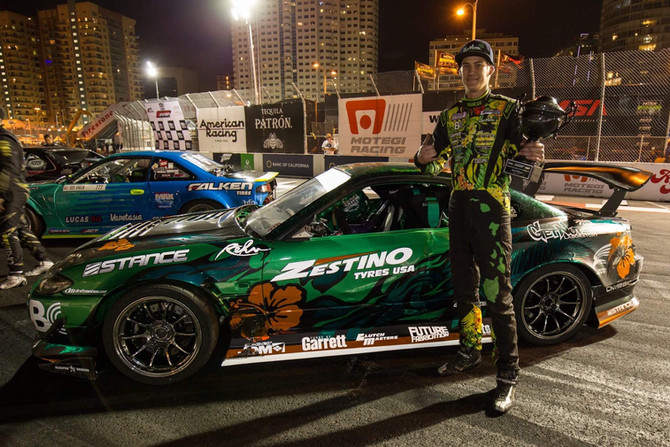 Forrest Wang Podiums on Zestino Tyres.