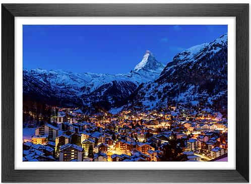 Cadre en bois - Zermatt