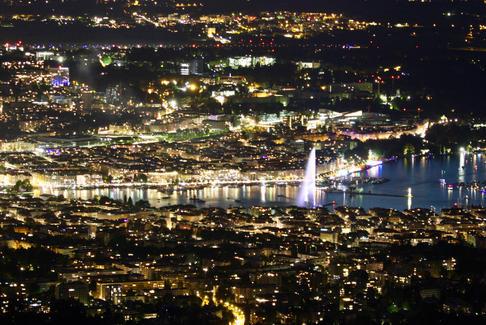 Genève de nuit