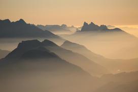 Levé de soleil au Mont de Grange