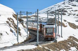 Gornergrat : Train à crémaillère - Zermatt