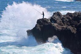 Pêcheur de la Réunion