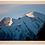 Thumbnail: Cadre en bois - Mont Blanc aux aurores