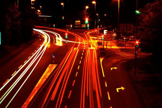 Montbéliard de nuit